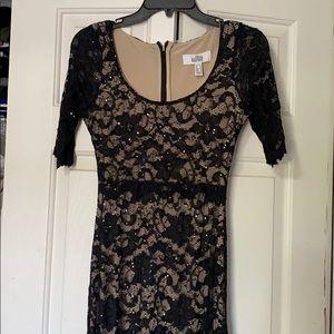 Bella Mishka maxi black dress